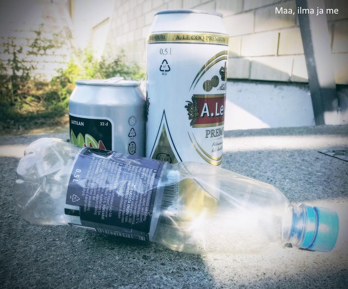 kierrätettävät juomapakkaukset